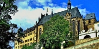 Blick auf die Schlosskirche